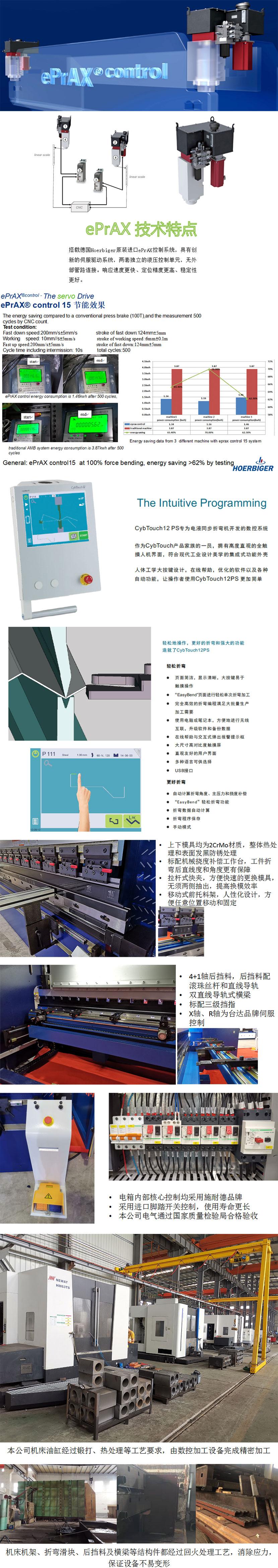 油电混合数控折弯机产品图文介绍